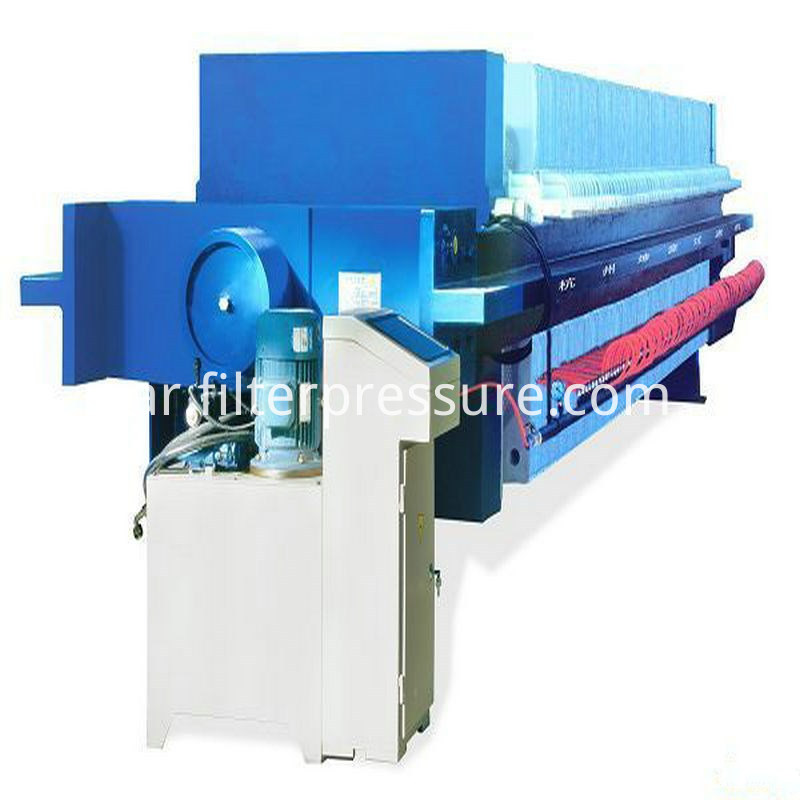 sewage cast iron filter press 4